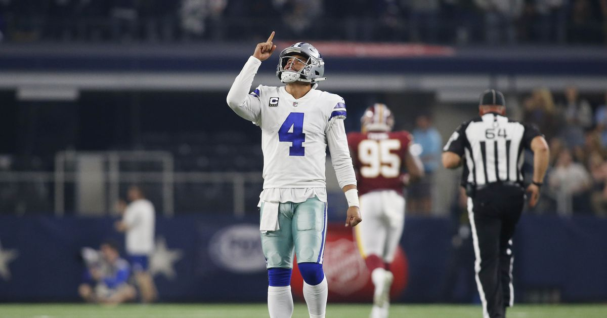 Cowboys QB Dak Prescott nominated for Walter Payton NFL Man of the Year Award