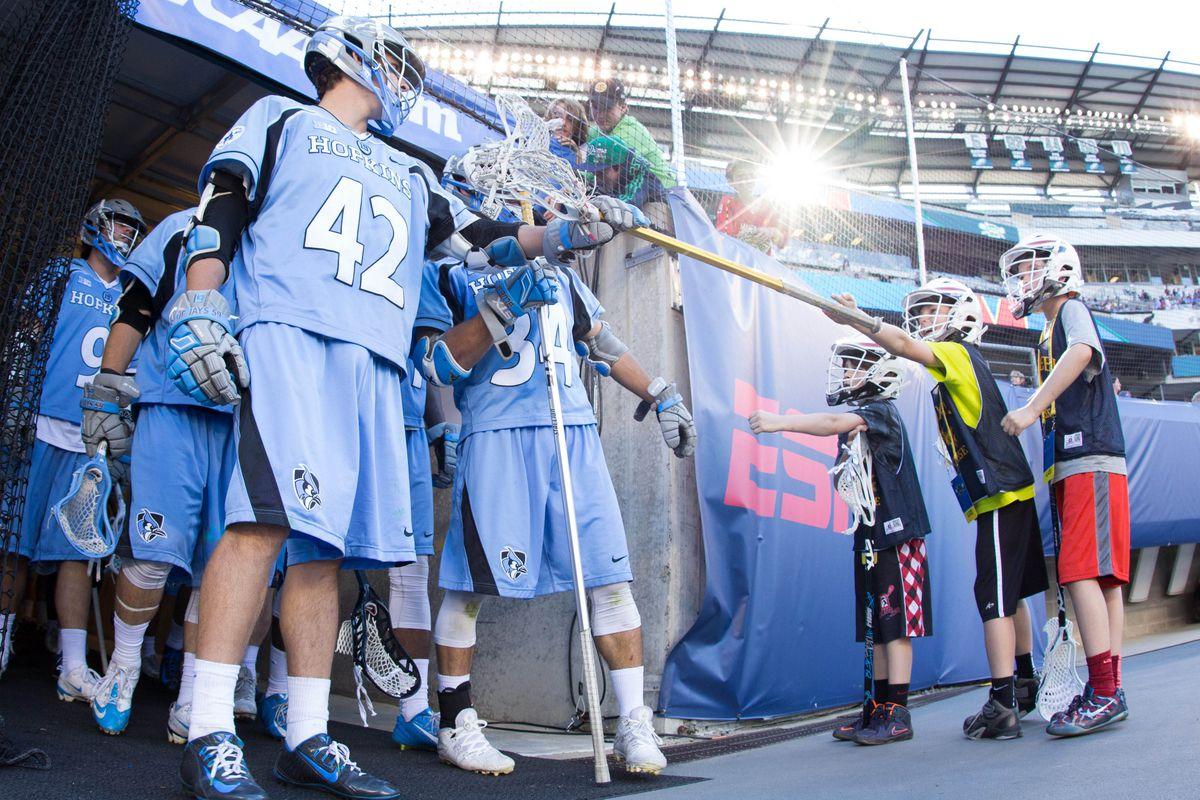 NCAA Lacrosse: Semifinals - Johns Hopkins Blue Jays vs. Maryland Terrapins
