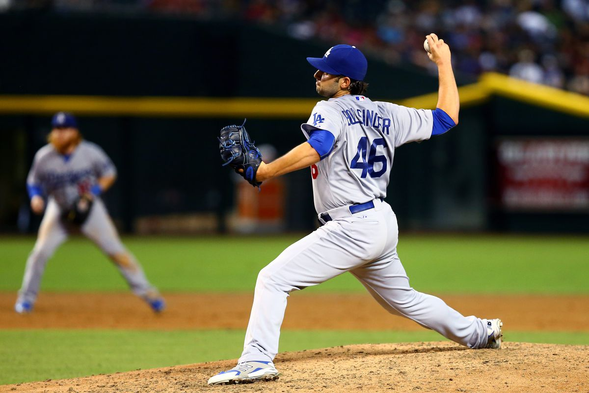 Mike Bolsinger has the lowest zone swing rate of any pitcher in the majors.