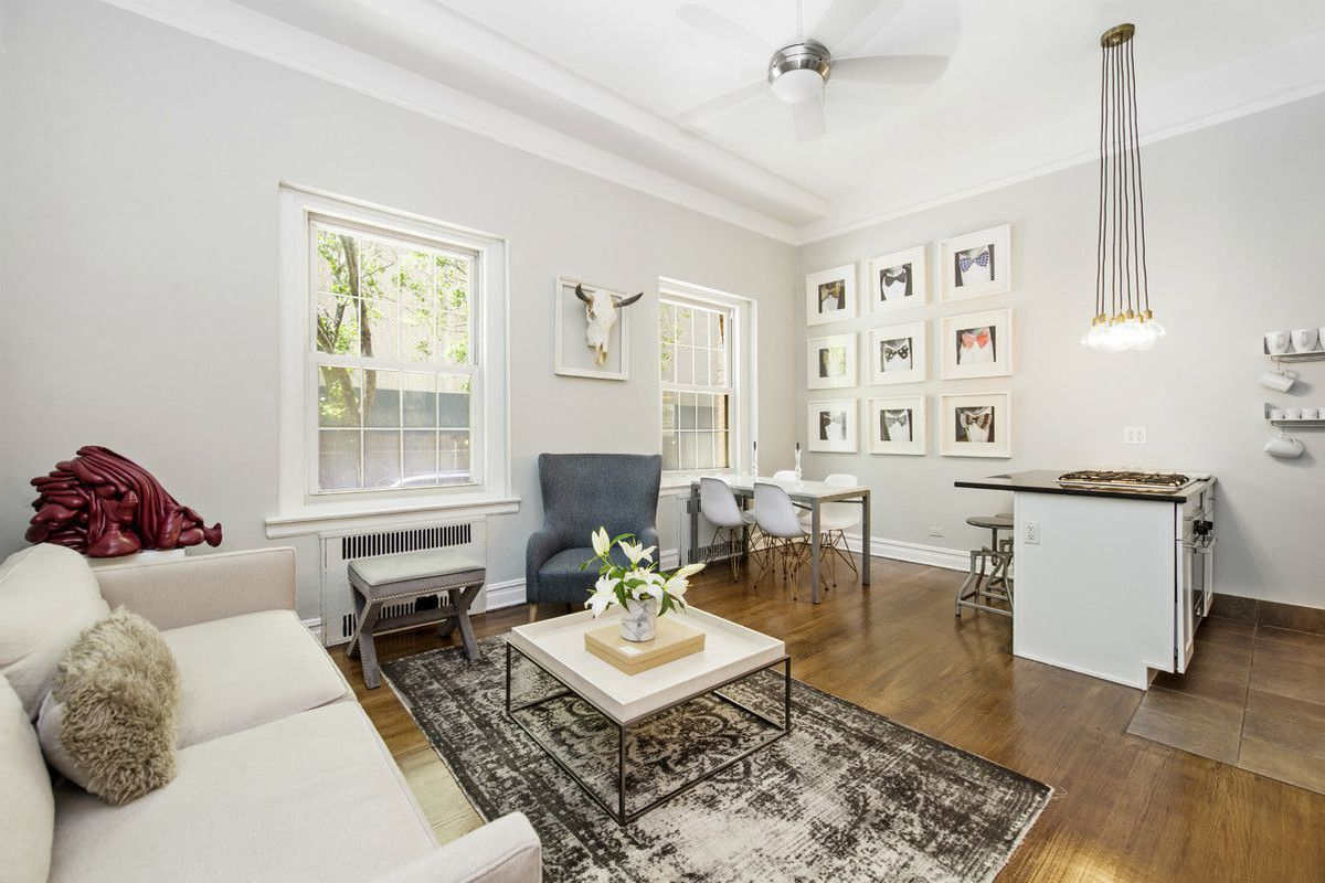 Big Reveal For A Chic Renovated Brooklyn Heights Co Op
