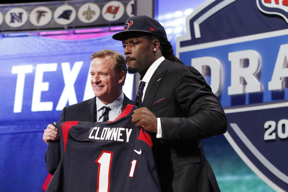 Gonna be a longer wait this year.  UNLESS THE TEXANS TRADE ALL THE WAY UP TO NO. 1.