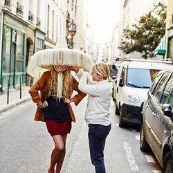 Parisian hair stylist Marisol Suarez.
