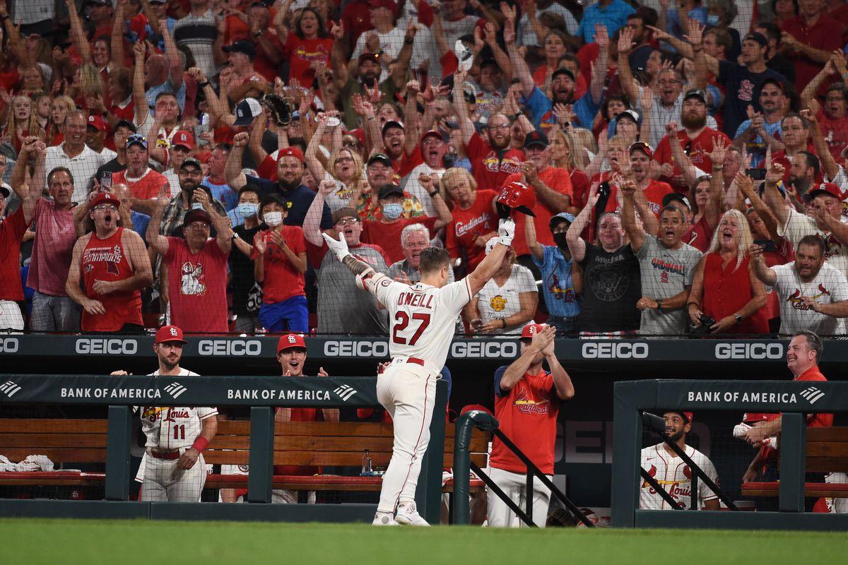 美国职业棒球大联盟:圣迭戈教士队在圣路易斯红雀队