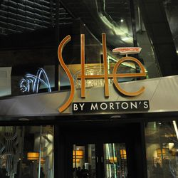 A view of the exterior of SHe.
