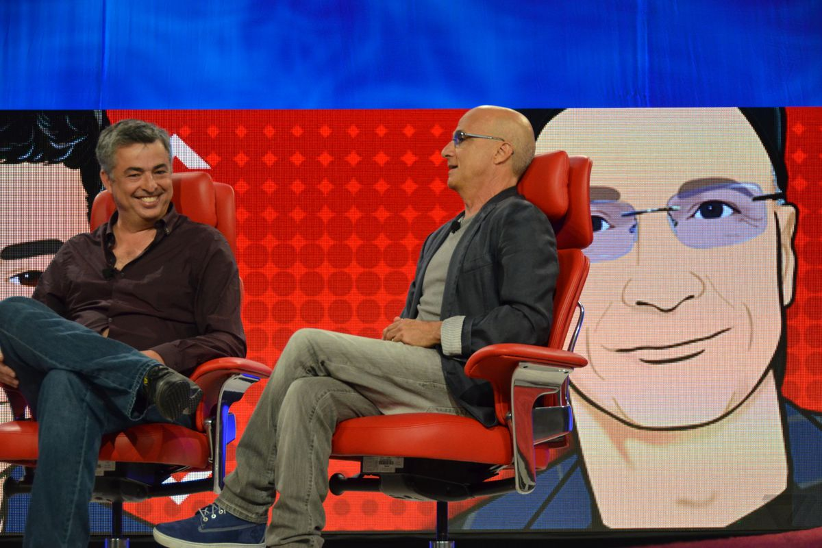 You'd be laughing like Eddy Cue if you just hired Jimmy Iovine