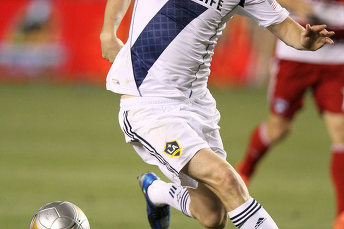 Robbie Keane isn't Donovan or Beckham, but he doesn't have to be.(Photo by Stephen Dunn/Getty Images)