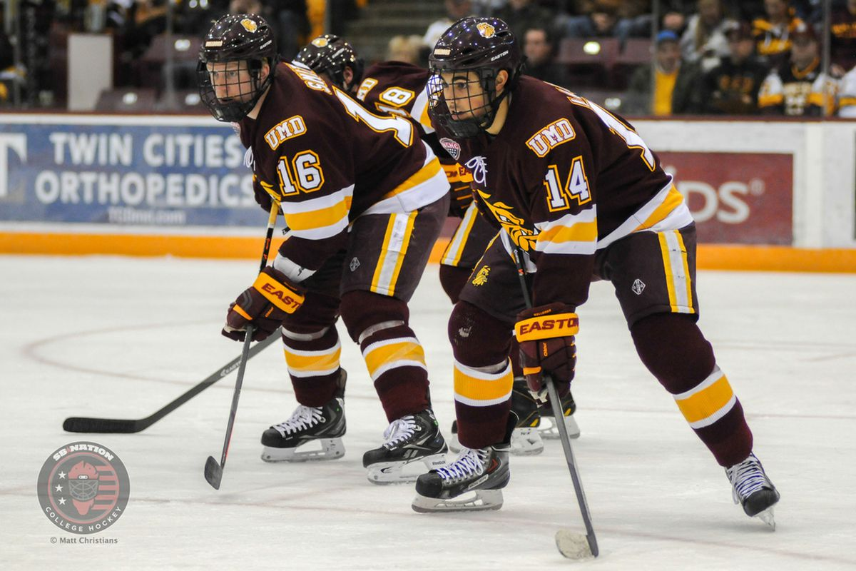 Minnesota Duluth hosts St. Cloud State this weekend   Photo -
