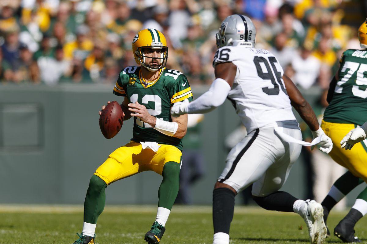 NFL: Oakland Raiders at Green Bay Packers