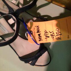 <b>Nina Ricci</b> sandals, $150