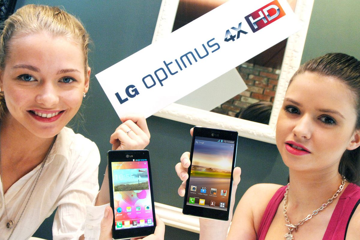 Gallery Photo: LG Optimus 4X HD press images