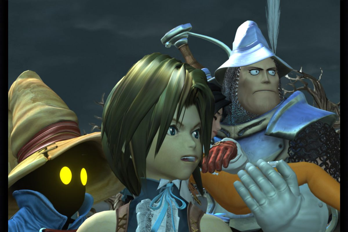 Final Fantasy 9 Feels Right At Home On The Switch The Verge