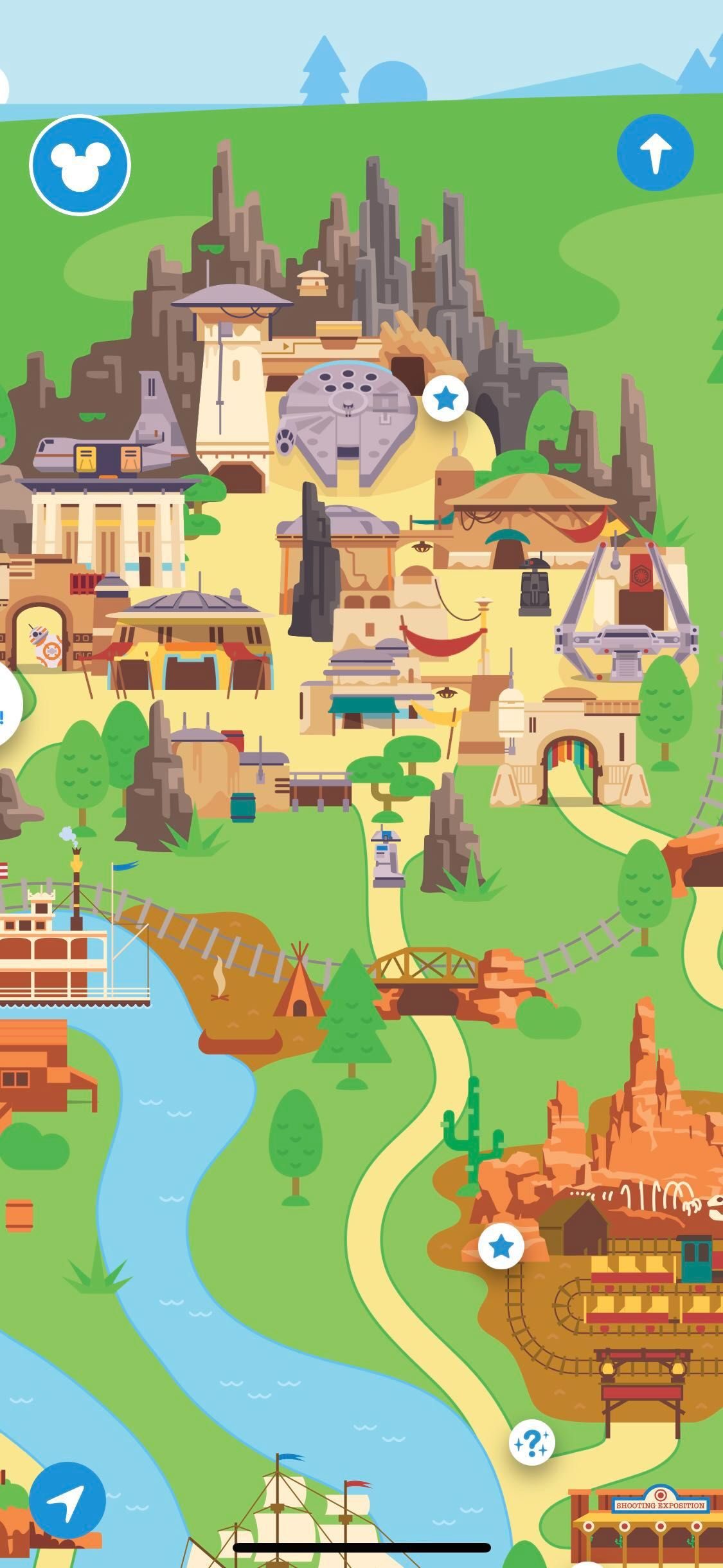 Play Disney Parks app with Galaxy's Edge features