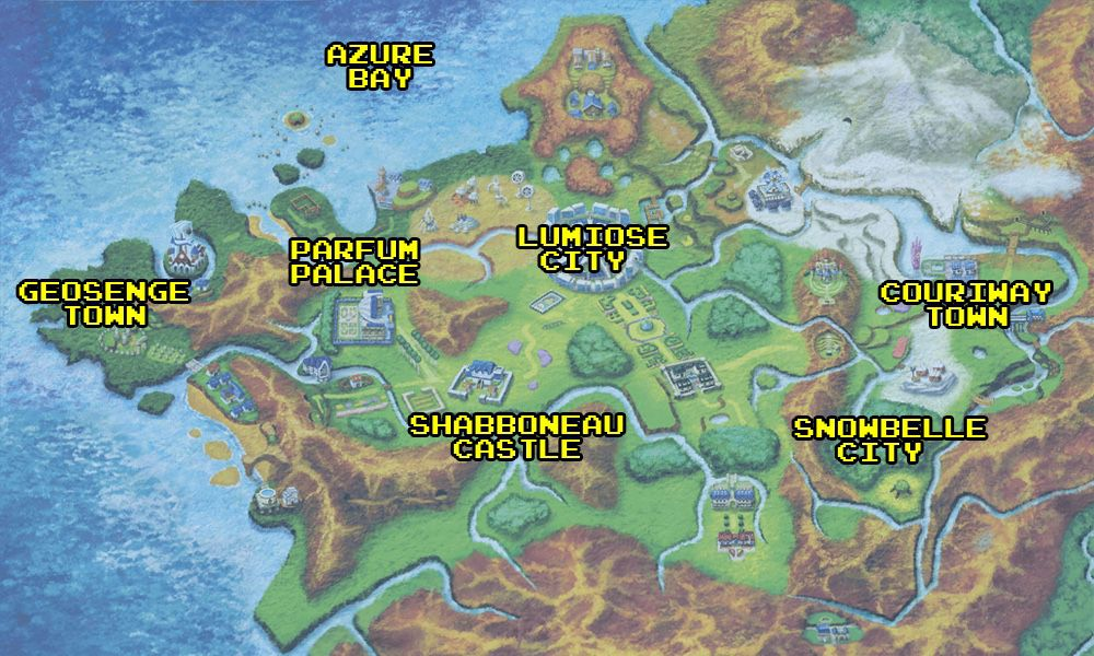 How Pokémon's world was shaped by real-world locations - Polygon