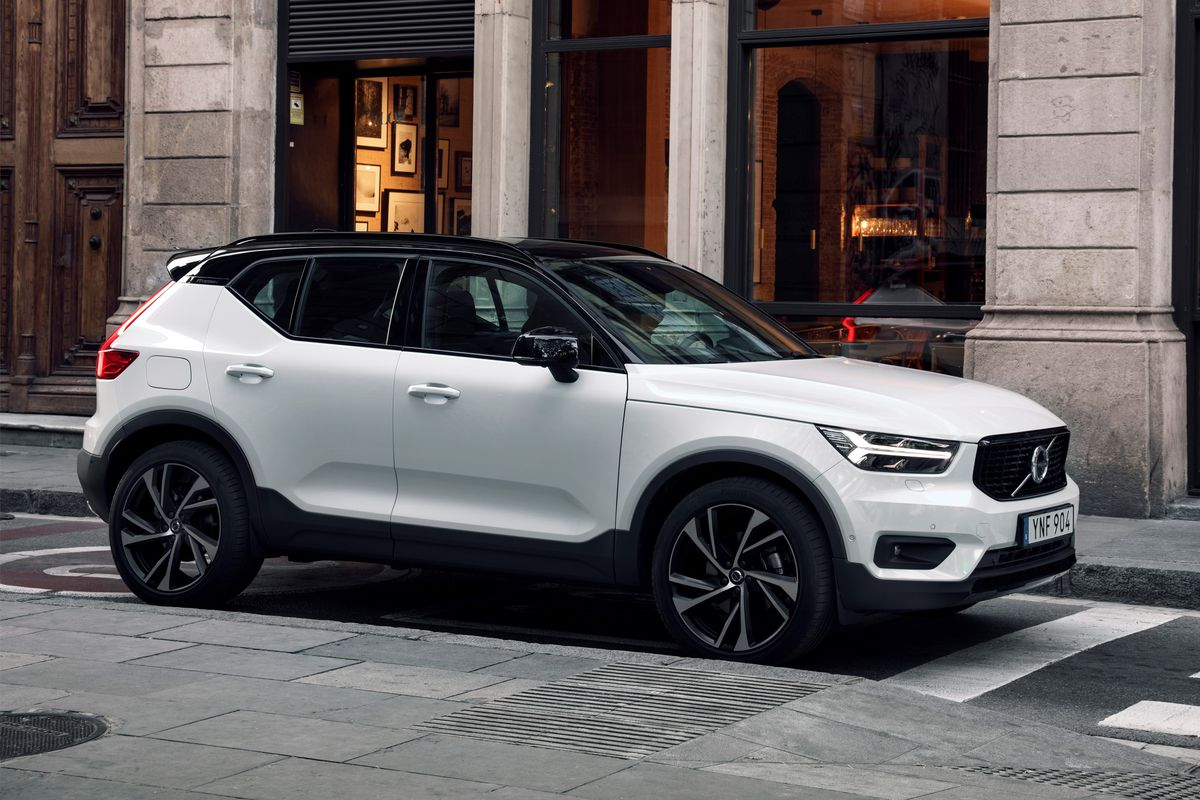 New Volvo Xc40 Exterior Photo