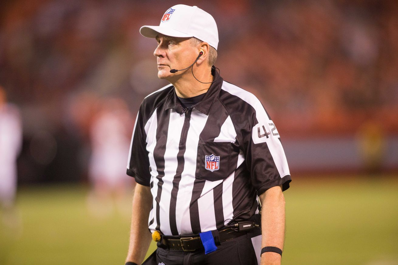 Even after retirement, the NFL is still subjecting us to Jeff Triplette