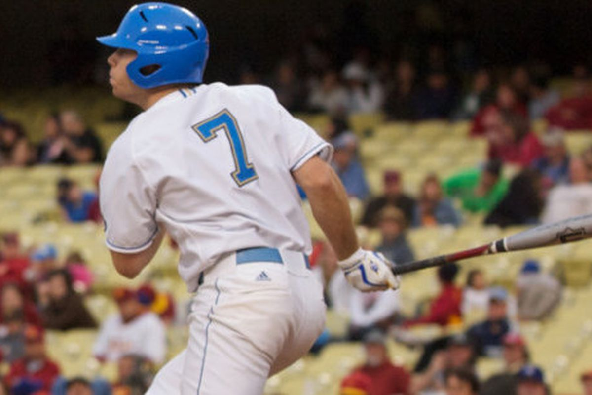 Cody Keefer knocked in three runs to help lead UCLA over Long Beach St. (Photo Credit: Official Site)