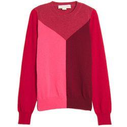 "<b>Stella McCartney</b> Colorblock Pullover, <a href=""http://www.kirnazabete.com/colorblock-pullover-1"">$760</a> at Kirna Zabete"