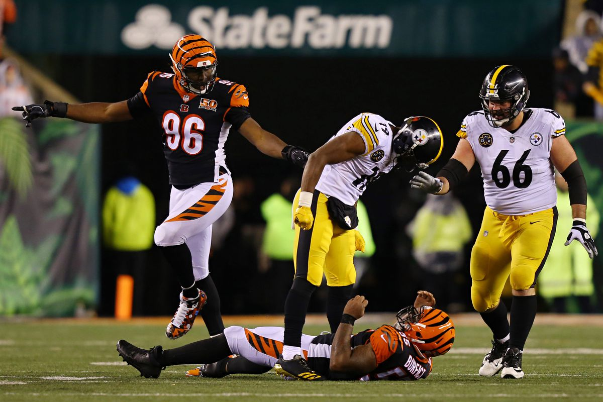 2 suspensions for dirty hits in Bengals-Steelers game