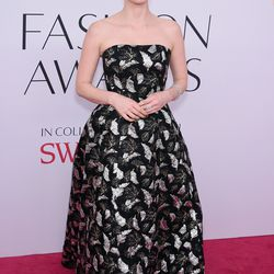 Jessica Chastain in Prabal Gurung and Paul Andrew sandals