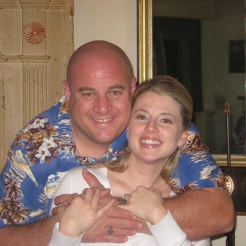 Lorne Ahrens and his wife, Katrina.