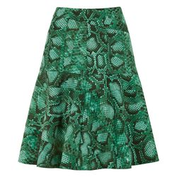 Flounce Skirt in Green Python Print, $34.99 (Target.com Exclusive)