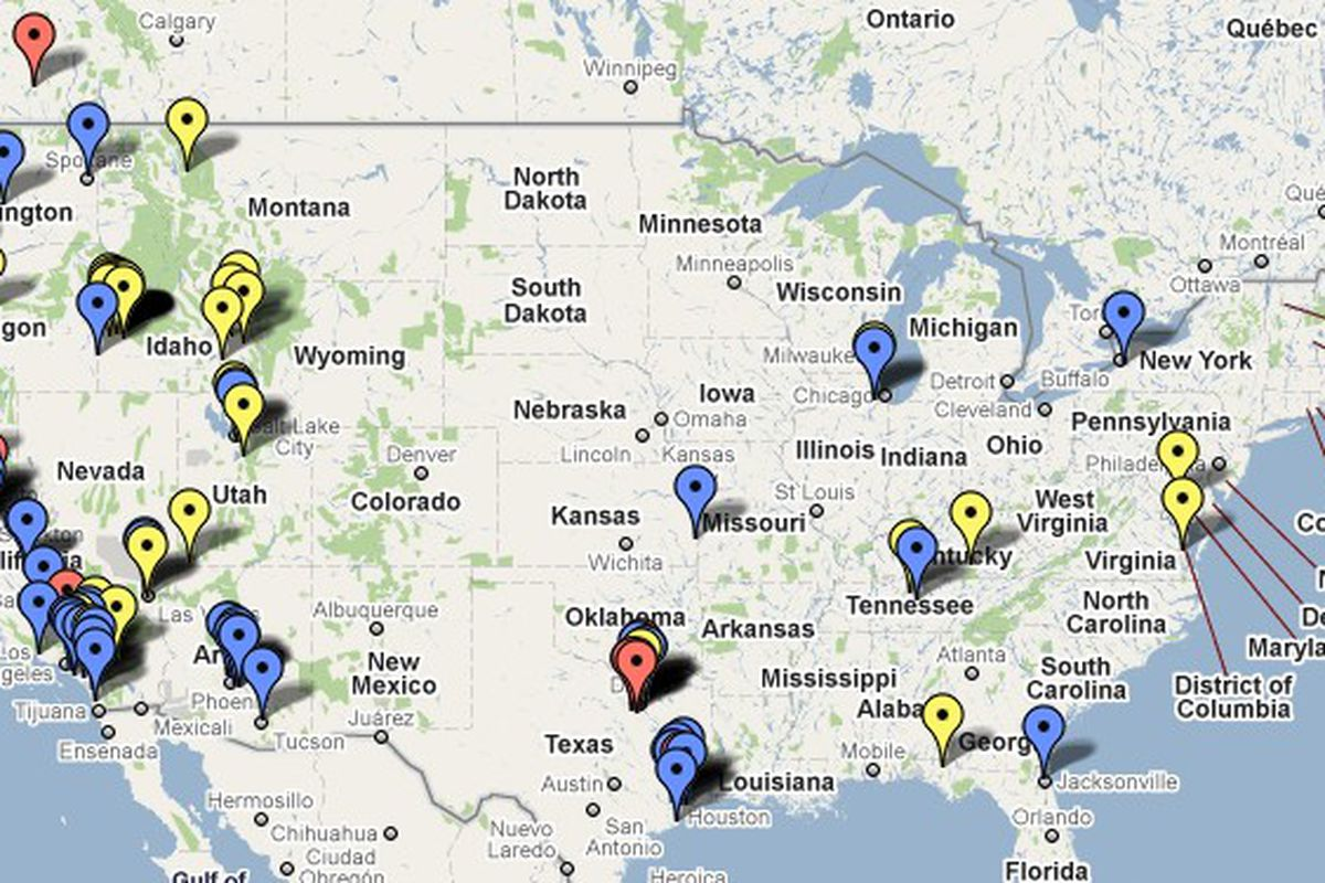 Summer Project Boise State Football Recruiting Map One Bronco