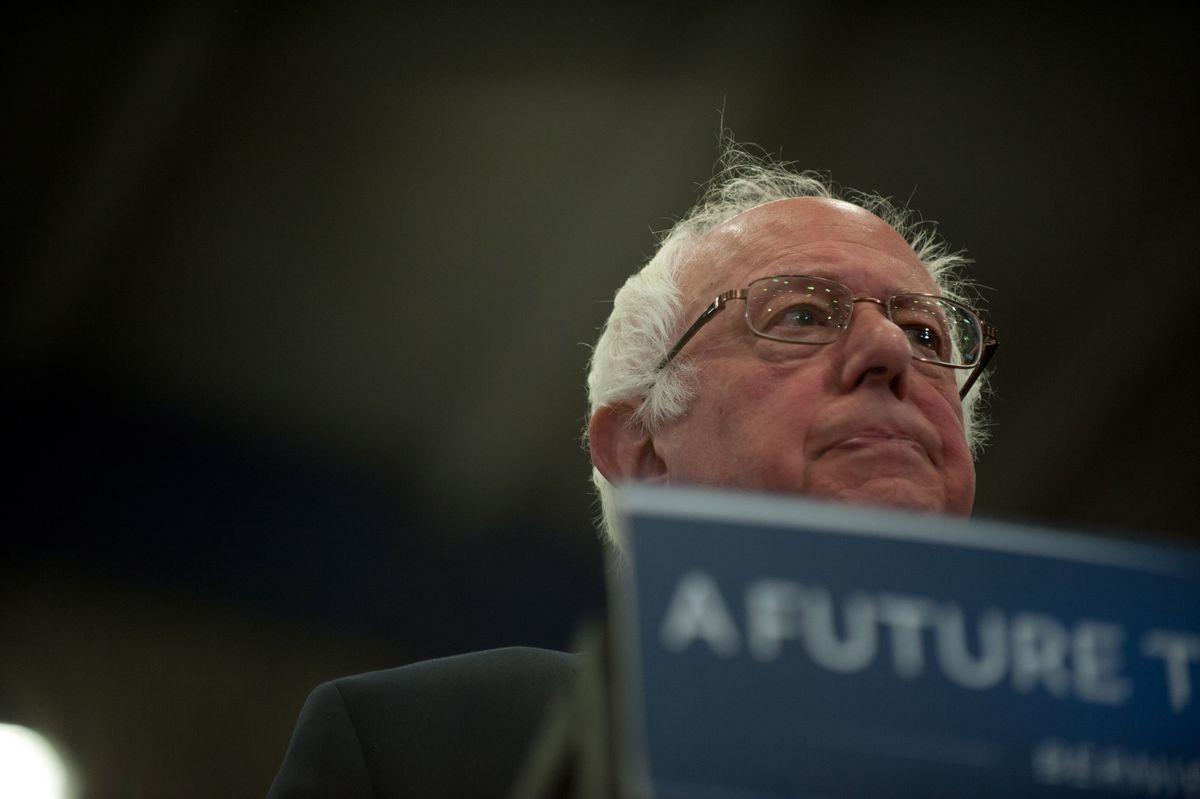 Bernie Sanders Campaigns In Pittsburgh Ahead Of PA Primary