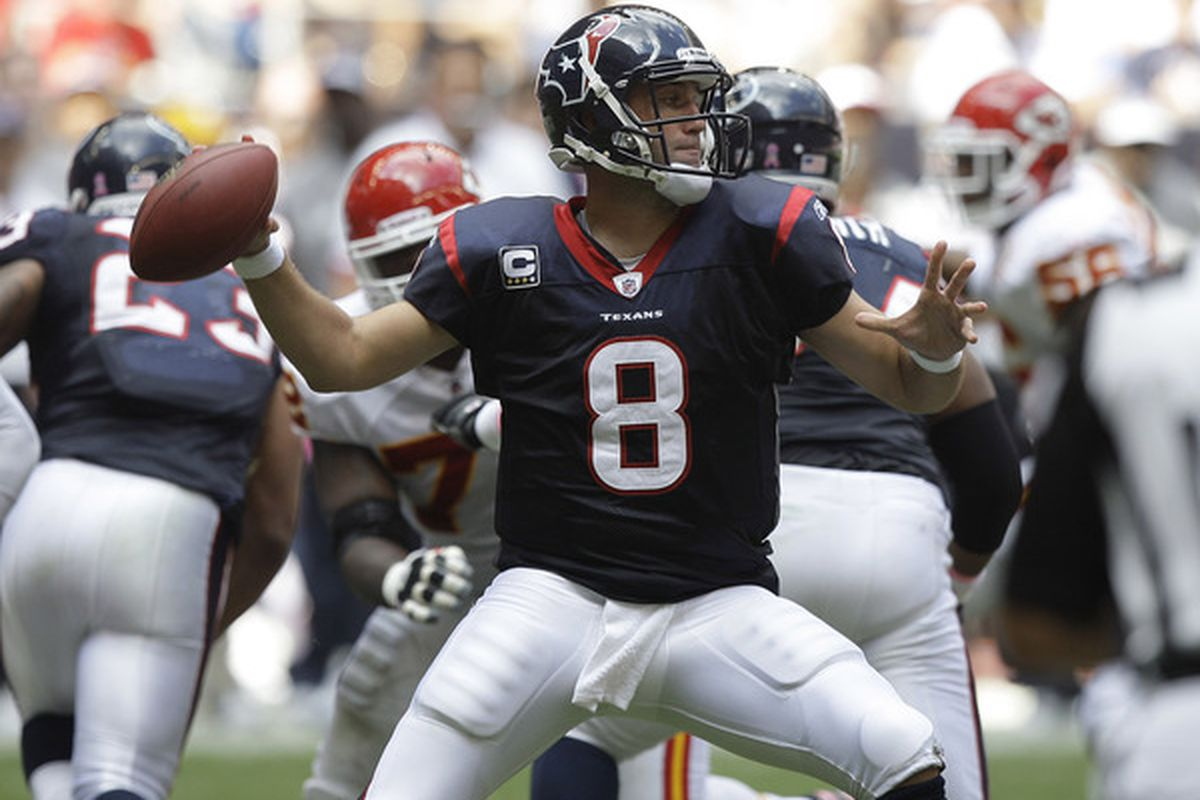 That's the Matt Schaub we all know and remember.