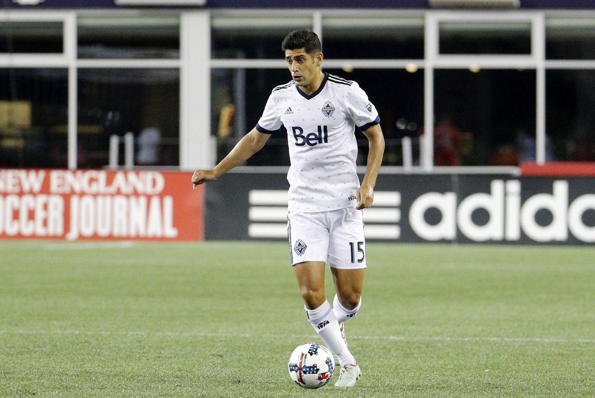 SOCCER: AUG 12 MLS - Vancouver Whitecaps FC at NE Revolution