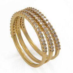 "<b>Kelly Wearstler</b> rarity rings with three encrusted raw diamonds, $495 at <a href=""http://www.kellywearstler.com/RARITY-RINGS/JGLFC11034,default,pd.html?dwvar_JGLFC11034_color=1&start=14&productTemplate=product%2fproduct&cgid=45""target=""_blank"">Kelly"