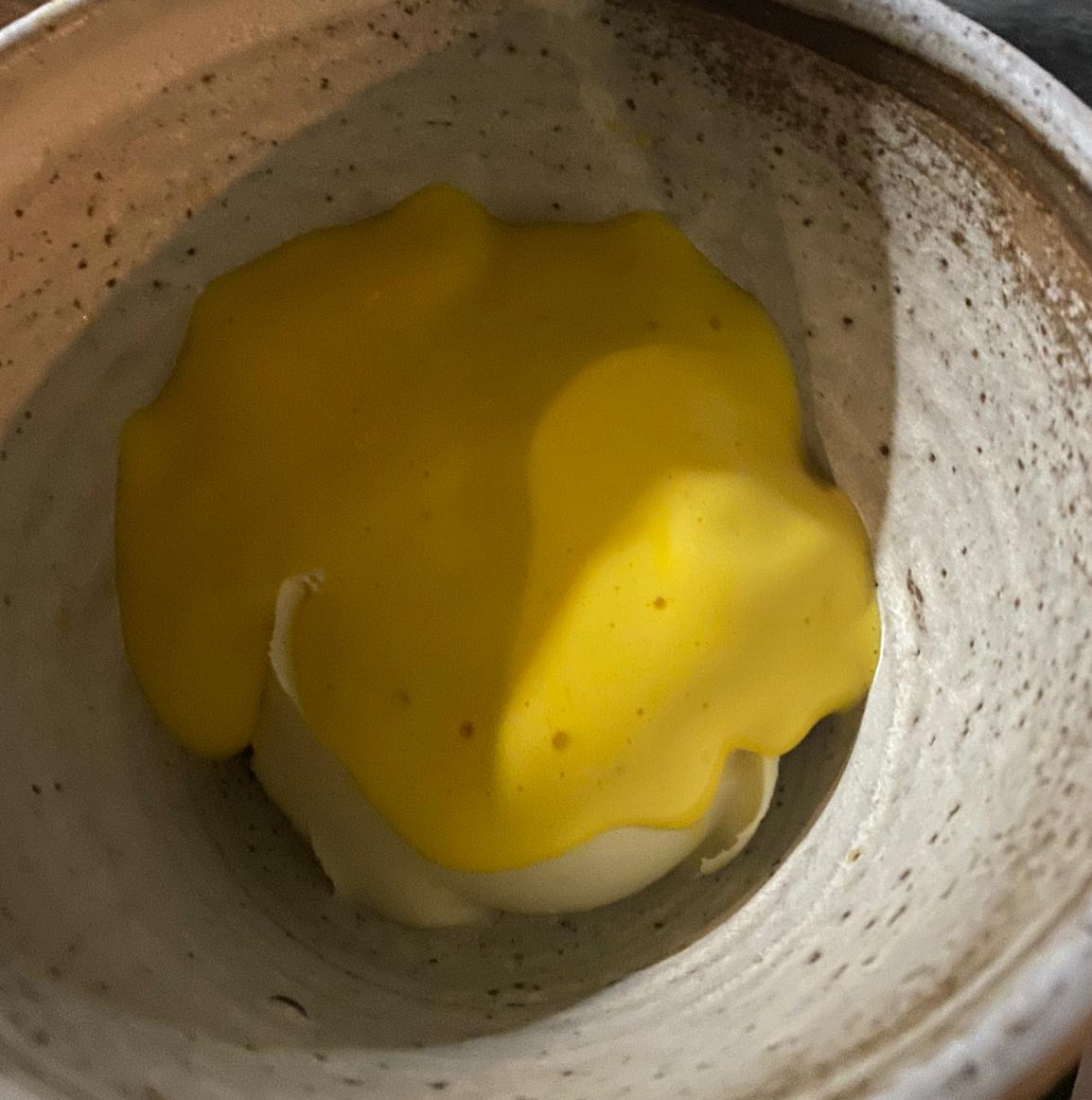 Clementine posset with a marmalade sabayon at P. Franco in Hackney was one of the best things Eater writers ate in London this week