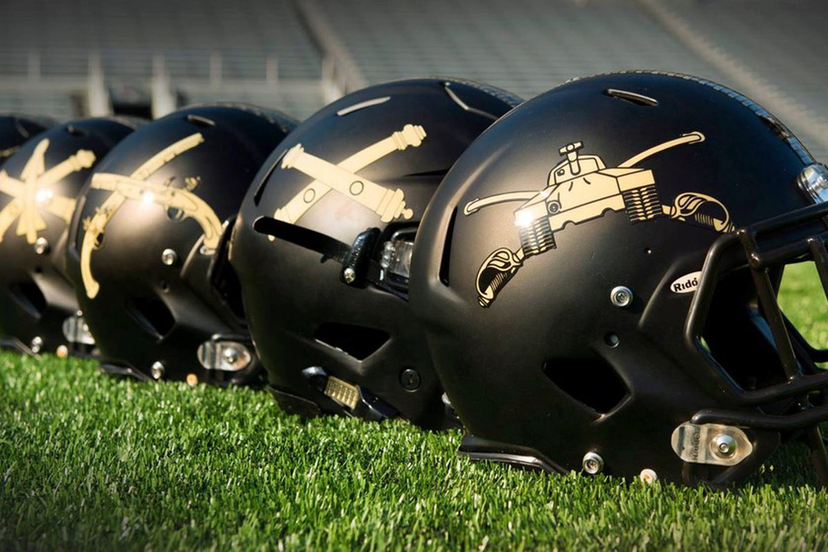 Army s awesome helmets for the Navy game f0e3378d6