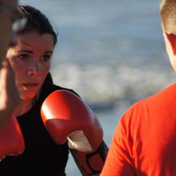 Carolina MuÑoz Marin has fought her way to the top of women's amateur kickboxing in Costa Rica, challenging the traditional stereotypes of a Mormon woman.