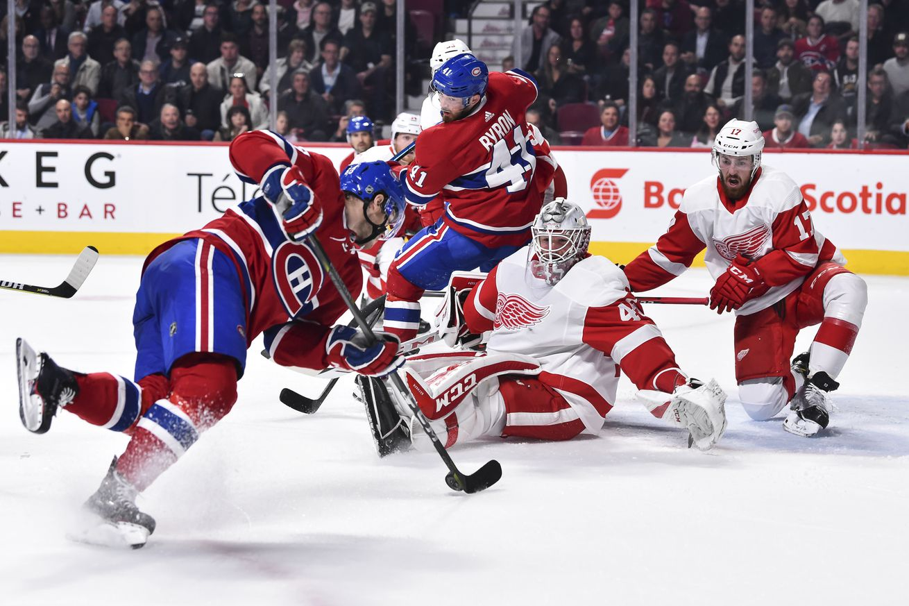 Red Wings-Habs: Game Day Updates/Key Matchups