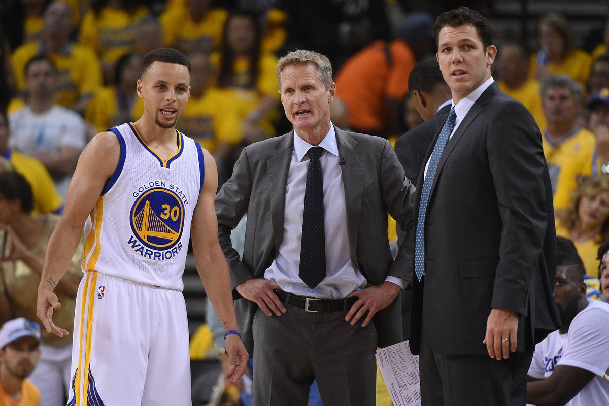 Warriors coach Kerr returns for Game 2