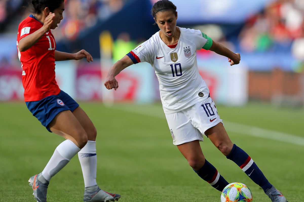 Rutgers Alumna Carli Lloyd scores in World Cup record sixth straight game