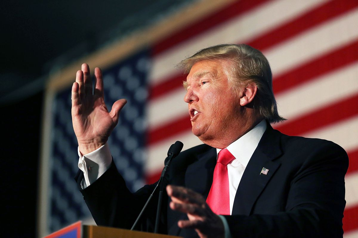 Donald Trump says Ted Cruz committed voter fraud to secure a win in Iowa.