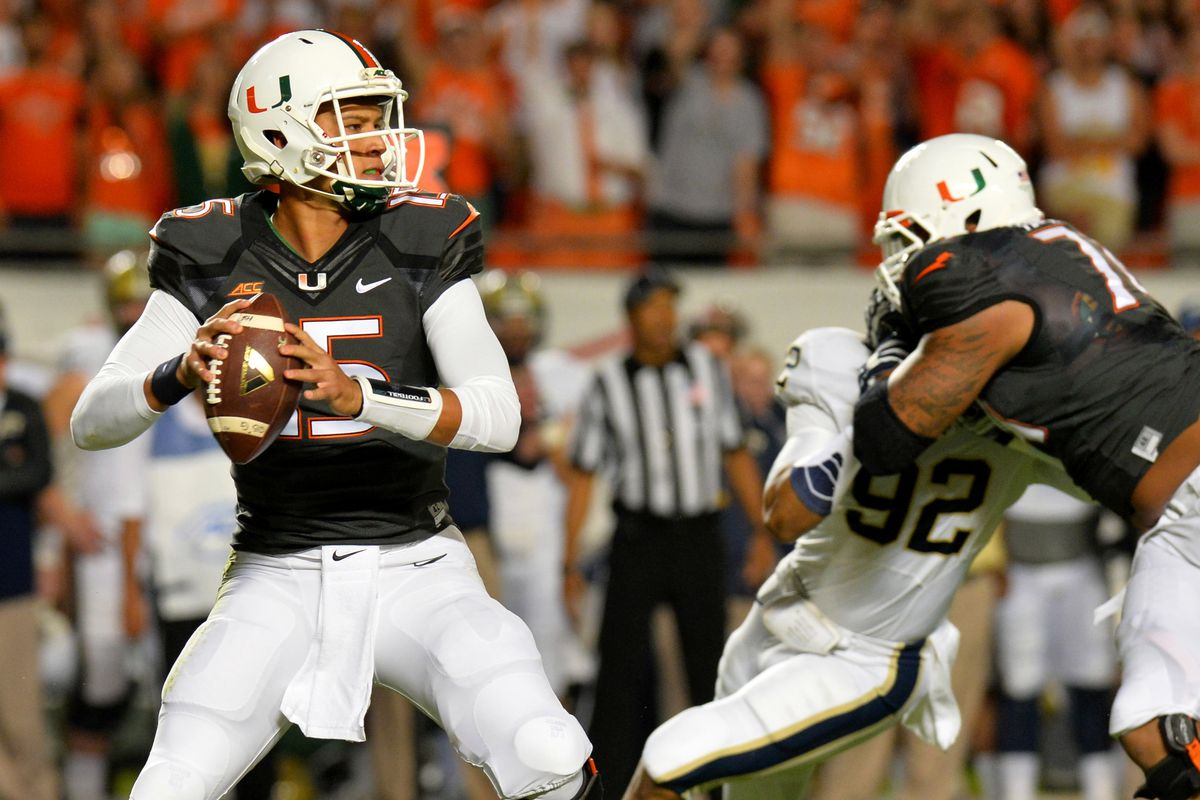 Heisman candidate Brad Kaaya looking cool, calm and collected in the pocket against Pittsburgh