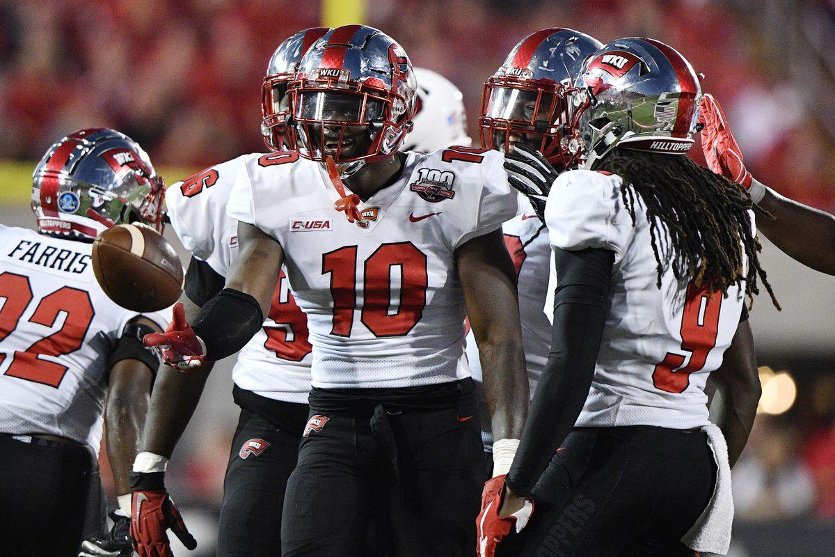 NCAA Football: Western Kentucky at Louisville