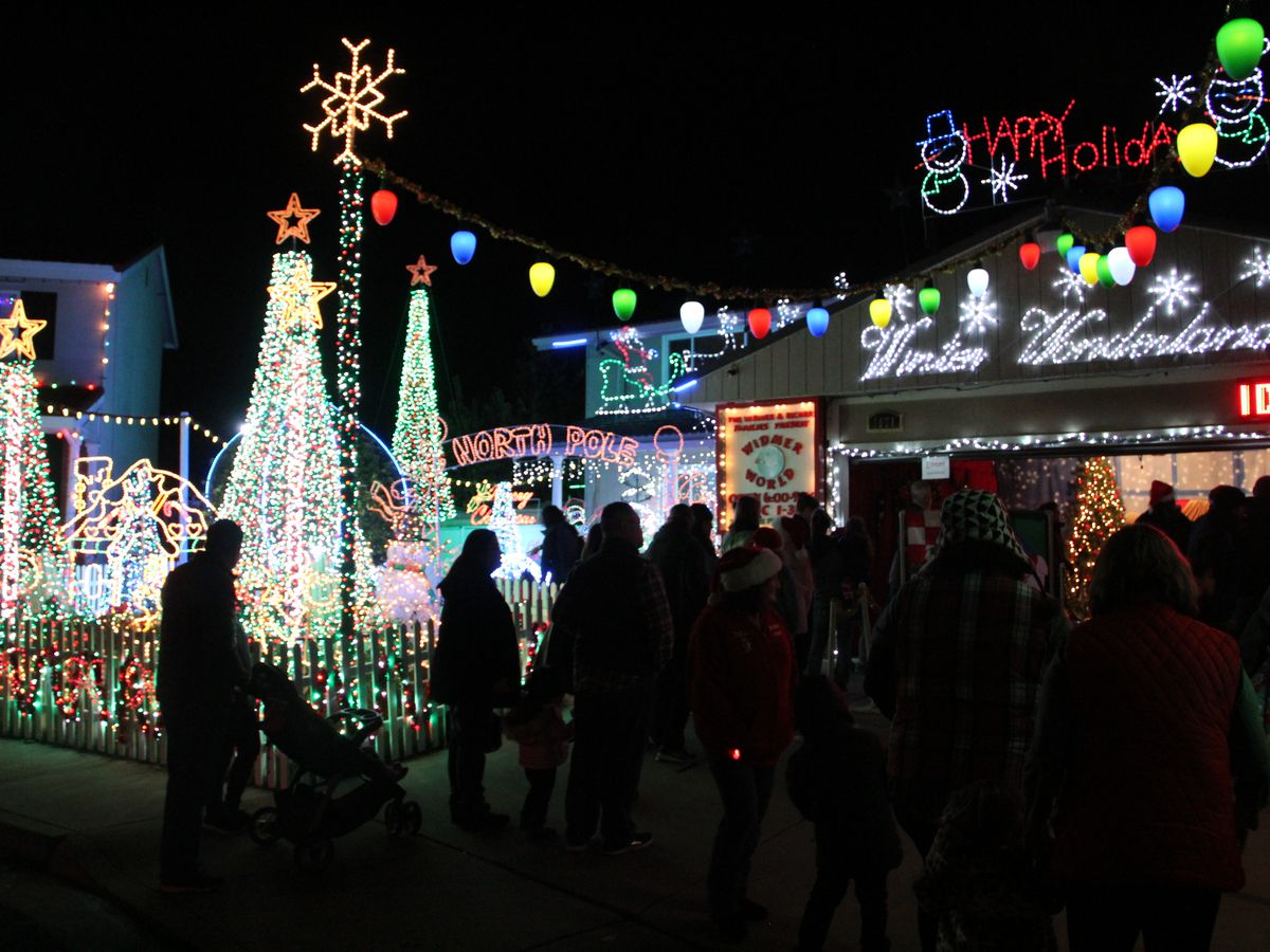 Christmas Lights In The Bay Area: Where To See Them