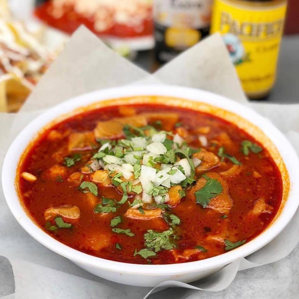 Pozole at Abuela's Tacos