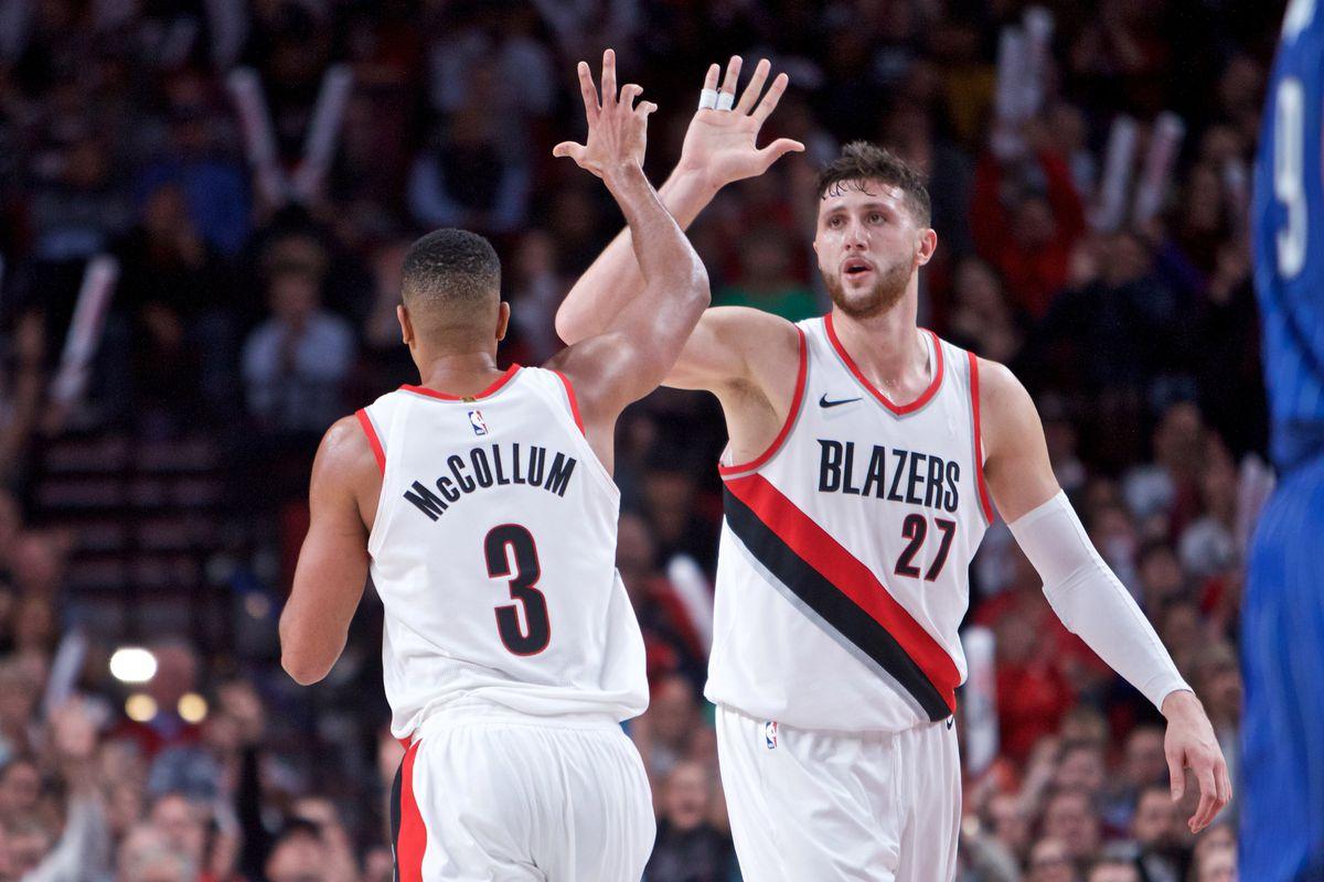 NBA: Orlando Magic at Portland Trail Blazers