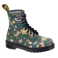 """<b>Dr. Martens x Liberty of London</b> Strawberry Thief Boot, <a href=""""http://www.nylonmag.com/popup/"""">$130</a> at the NYLON Holiday Pop-Up"""