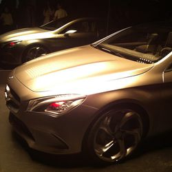 Red-eyed cars in the Mercedes-Benz Concept Style Coupé