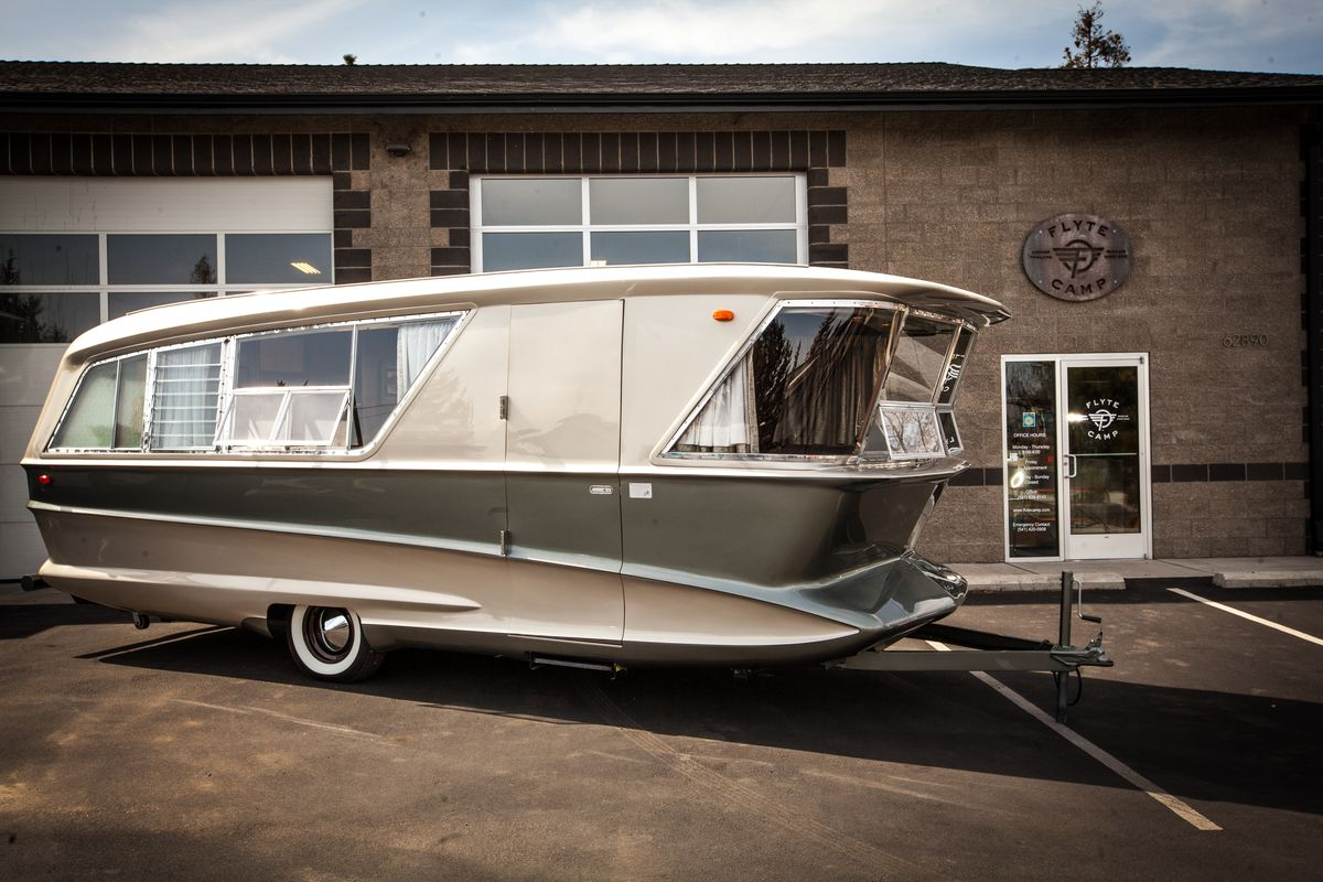 Vintage Camper Trailer Is Your Midcentury Dream Home On
