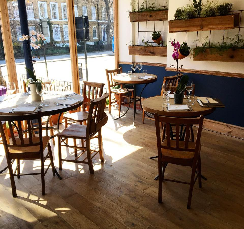 Best restaurants in Vauxhall south London: