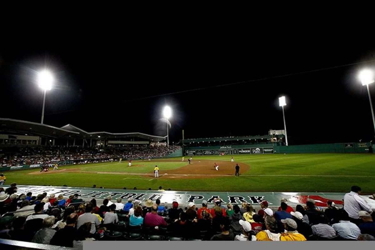 I Went To Jetblue Park And All Got Was The Information For This Lousy Review Of