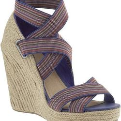 """<a href=""""http://piperlime.gap.com/browse/product.do?cid=78841&vid=1&pid=343312&scid=343312002""""> Matisse Trinity wedge espadrille</a>, $89.99 piperlime.com"""