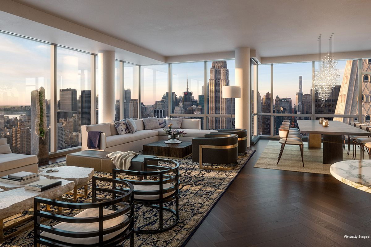 One Madison Live Below Rupert Murdoch At One Madison For $27M  Curbed Ny