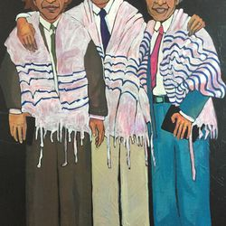 """Willamarie Huelskamp's """"The Brothers Rubinfeld"""" will be featured in the Springville Museum of Art's """"32nd Annual Spiritual and Religious Art of Utah"""" show."""